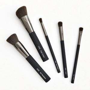Brand new laruce cheek & eyes brush set